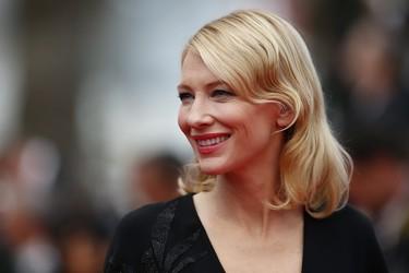 Cate Blanchett y la sobriedad del negro en su nuevo look en la alfombra roja de Cannes