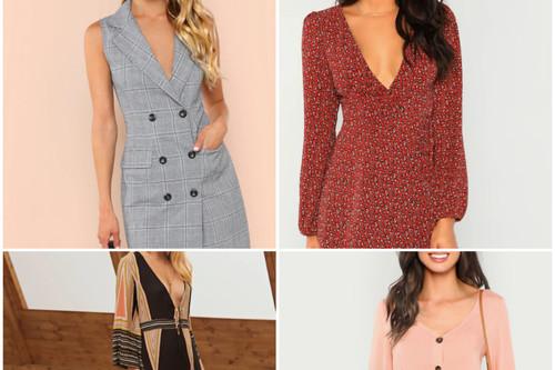 9 vestidos perfectos para el otoño por menos de 20 euros en SheIn y con descuento extra