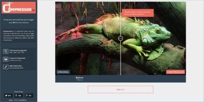 Compressor.io, servicio de compresión y optimización de imágenes gratuito. A fondo