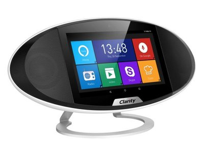 Clarity, o cómo integrar las funciones de un altavoz inalámbrico, asistente personal y tablet en un único gadget