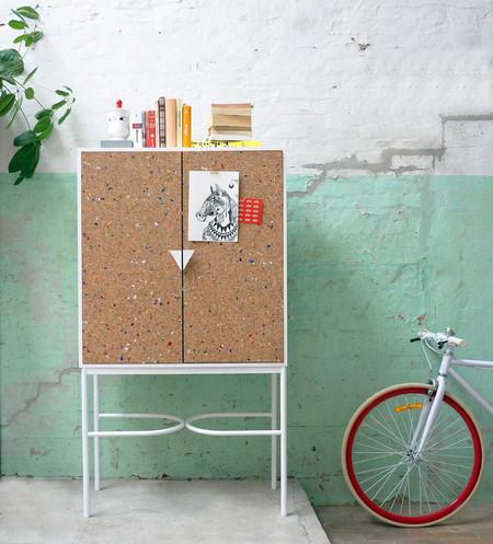 Muebles de corcho inspirados en cuadernos... Una colección perfecta para la vuelta al cole
