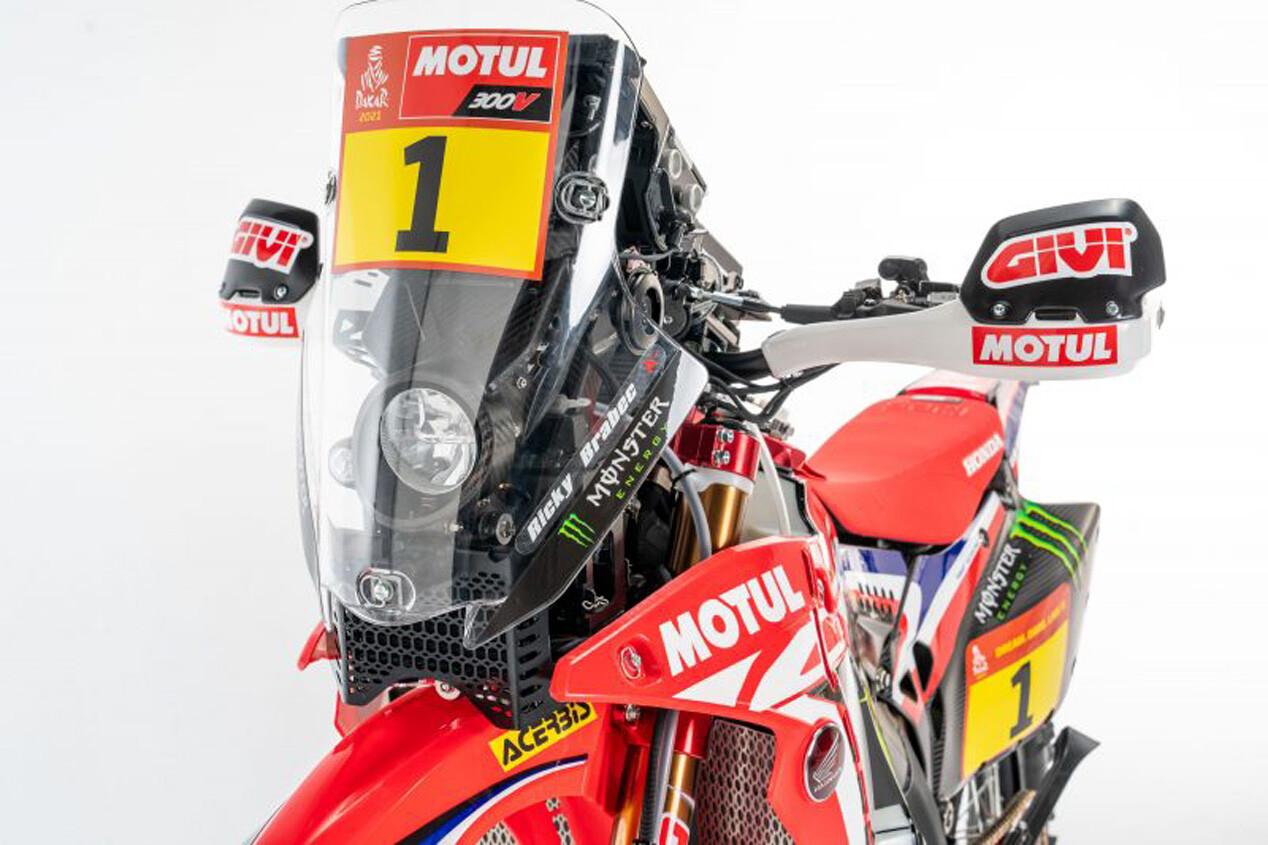 Foto de Honda CRF450 Rally Dakar 2021 (11/16)