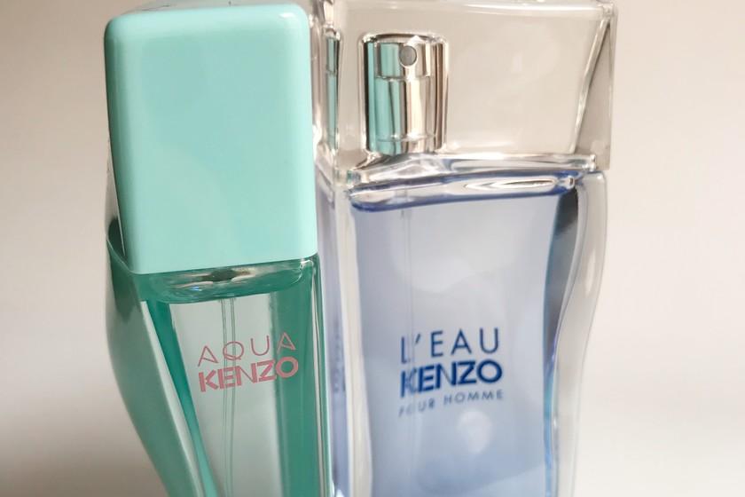 historia kenzo perfumes
