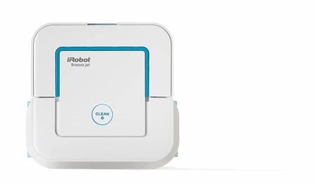 Por 149 euros tenemos el robot de limpieza iRobot Braava Jet 240, que barre, friega y pasa la mopa, a la venta en Amazon