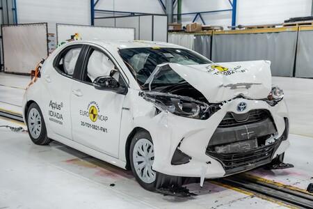 Toyota Yaris Obtiene 5 Estrellas En Las Nuevas Pruebas De Euro Ncap 4