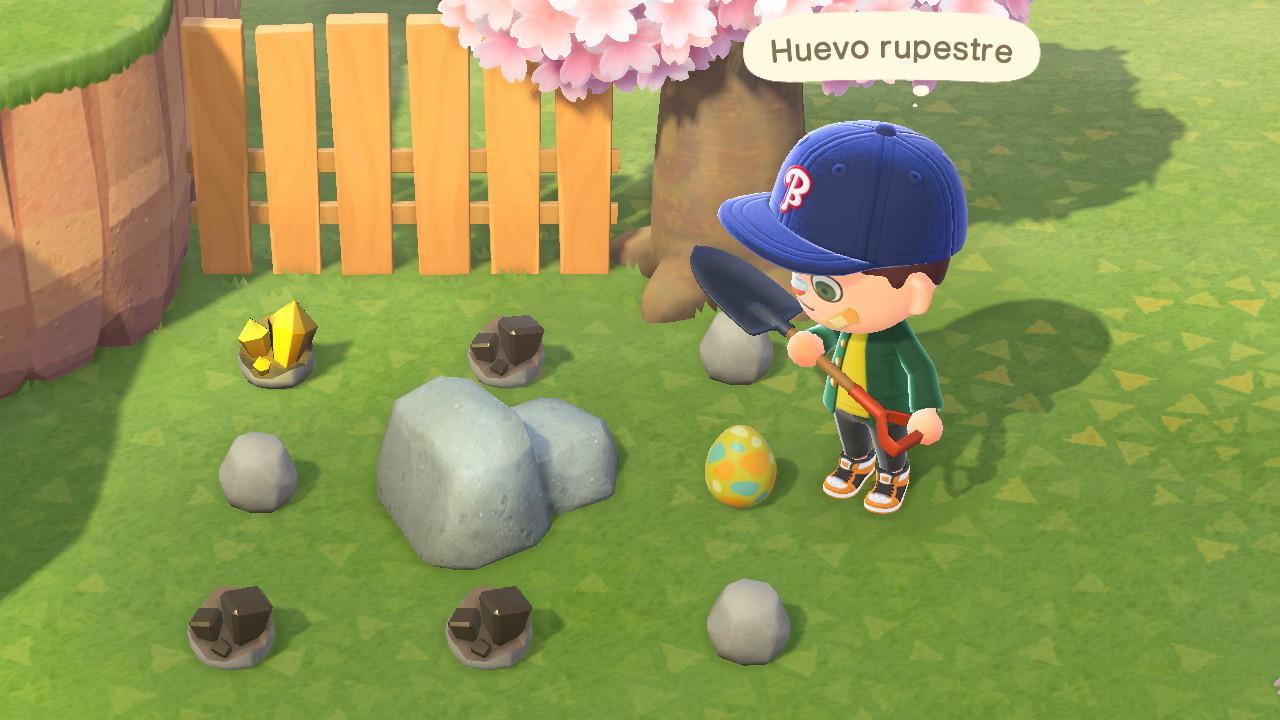 Usa las palas para cavar y encontrar tesoros y para picar rocas y obtener algunos minerales.