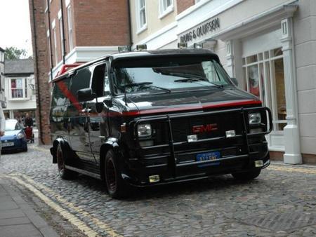 Ya puedes alquilar la furgoneta del Equipo A...en Inglaterra