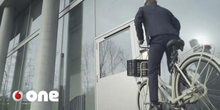 The Edge Edificio Inteligente bici