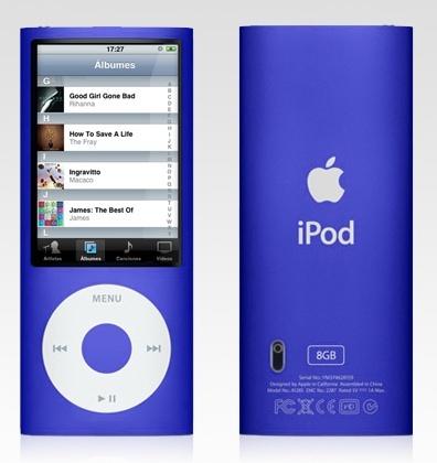 El nuevo iPod nano 5G ¿con cámara de fotos?