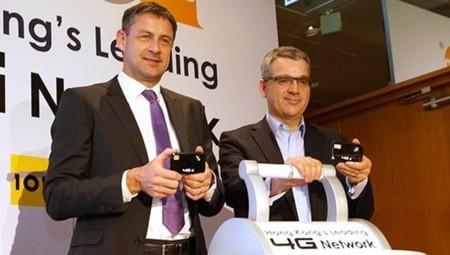 Las redes LTE de Hong Kong volarán a  150 Mbps