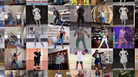 Move Mirror, el nuevo experimento de Google que compara tus movimientos con miles de imágenes en tiempo real