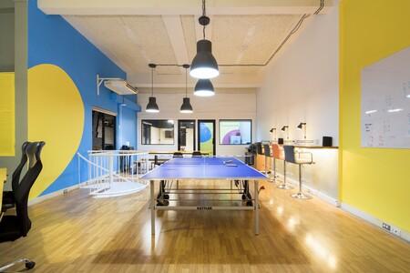oficina mesa ping pong