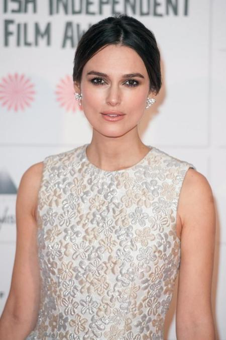 Keira Knightley y su acertado look retro en los British Independent Film Awards
