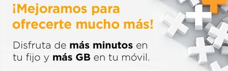 Jazztel sube dos euros sus tarifas convergentes a cambio de más gigas para el móvil y más llamadas
