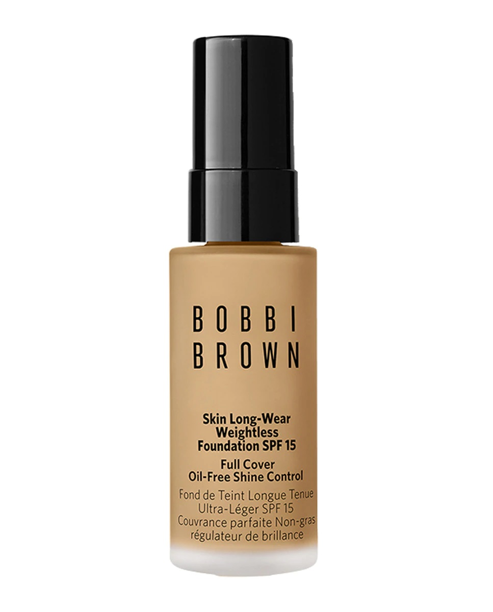 Base de maquillaje mini Skin Long-Wear Weightless Foundation de Bobbi Brown
