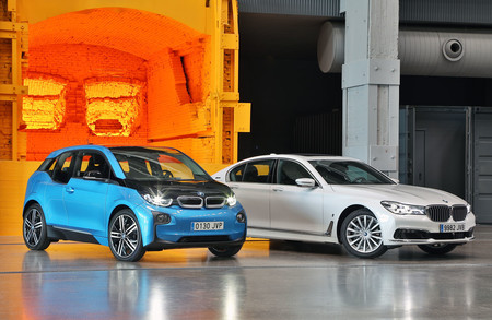 BMW i3 y Serie 7 ePerformance