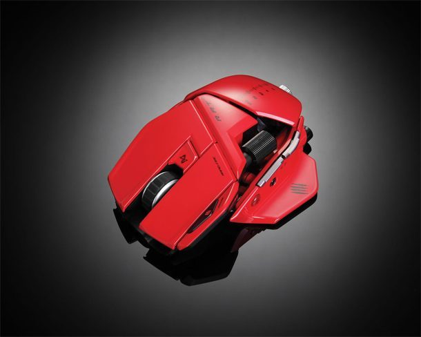 Mad Catz red mouse