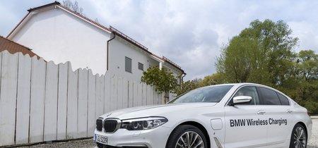 ¡Sin cables! La carga inalámbrica para el BMW 530e iPerformance llegará en 2018