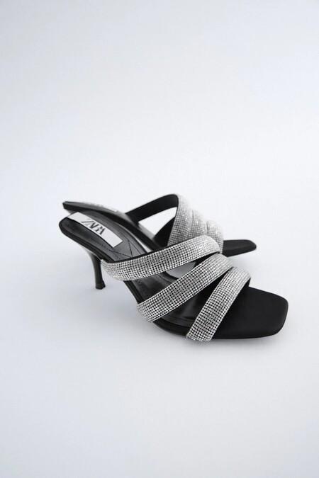 Zapatos Zara Strass Navidad 07