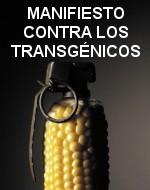 Manifiesto contra los transgénicos