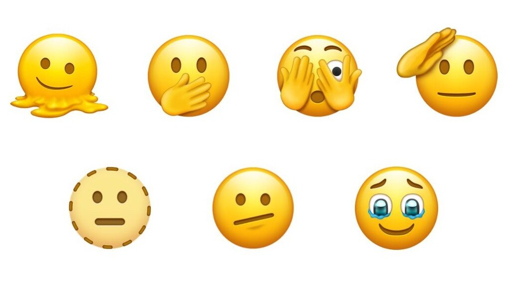 Nuevos Emoji en el iPhone, el consorcio Unicode incluye la carita que se derrite, la que saluda y más en su nuevo borrador