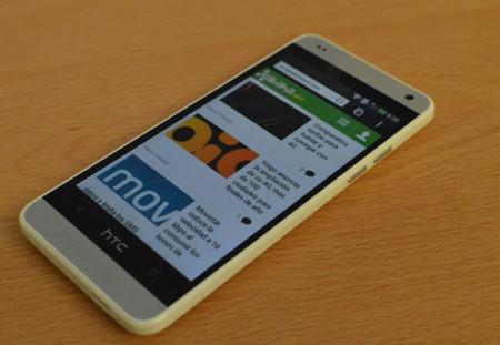El HTC One Mini frente al HTC One y al Samsung Galaxy S4 Mini
