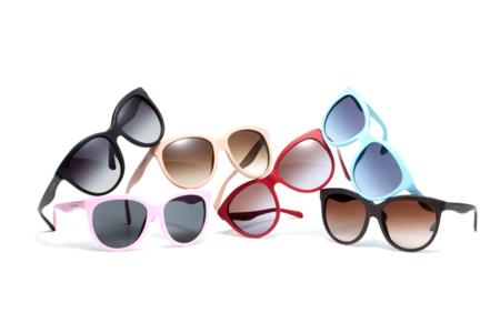 Especial gafas de sol: ¡quiero rayos de sol, pero de colores!