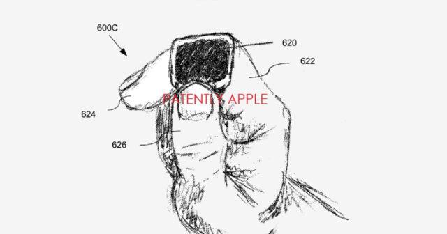 Apple patenta un anillo inteligente con monitor táctil, micrófono y altavoz