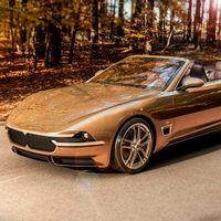Touring Sciàdipersia Cabriolet, un Maserati GranTurismo Convertible con traje retro para Ginebra