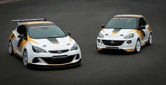 Opel Astra OPC y Opel Adam de carreras