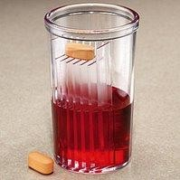 Pill Takers Cup, vaso para tomar pastillas