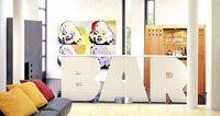 Alphabet Furniture, decorar con palabras