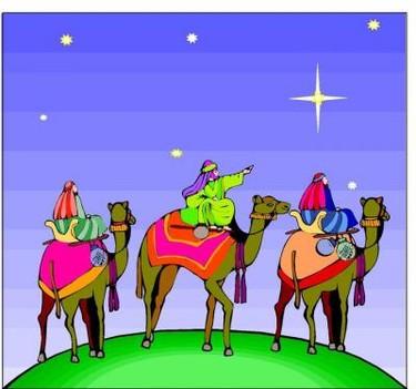 Carta a los Reyes Magos. Remite Eunice