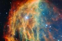 Esta preciosidad se llama Medusa y contiene una estrella que está muriendo
