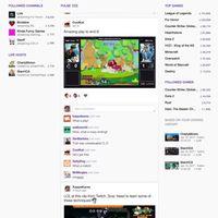 Twitch se hace aún más social con Pulse su nuevo feed de noticias que nos recuerda a Twitter