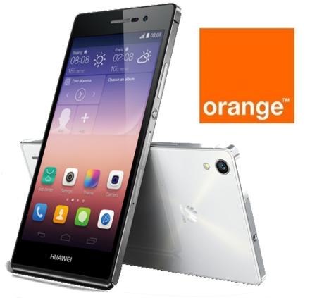 Precios Huawei Ascend P7 con Orange y comparativa con Amena