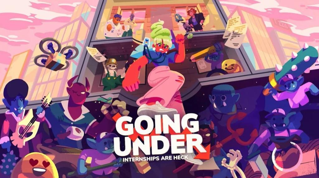 Going Under tiene la pizca de locura y frescura que pedía a gritos en un roguelite