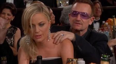 Amy Poehler y Bono