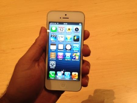 iPhone 5 Prueba