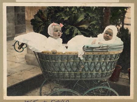 Preciosas fotos de bebés de hace un siglo