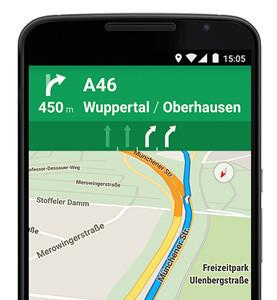 Google Maps para Android añade el asistente de carril en Europa