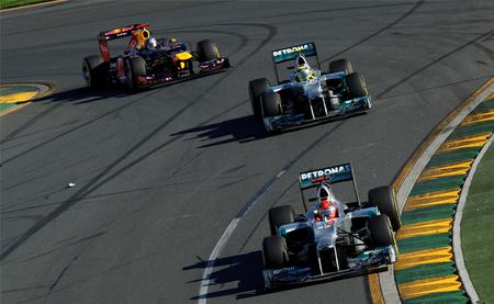 Optimismo en Mercedes de cara al Gran Premio de Malasia