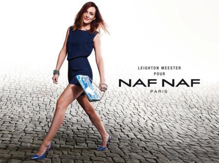 Leighton Meester repite como imagen de Naf Naf