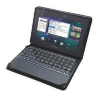 RIM le pone teclado a su Playbook con ayuda de un accesorio