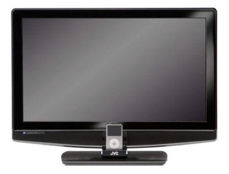 Televisores JVC: uno ultradelgado y otro con base para el iPod/iPhone