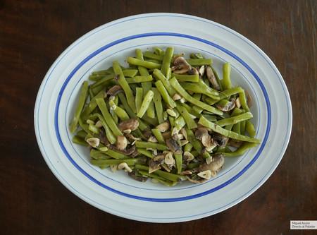 Salteado De Judías Verdes Receta De Cocina Fácil Sencilla Y Deliciosa