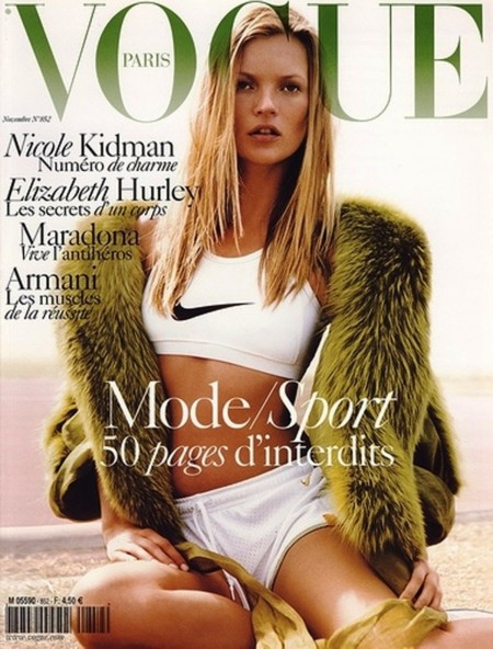 Vogue Paris desfile kate moss
