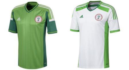 Playera de Nigeria