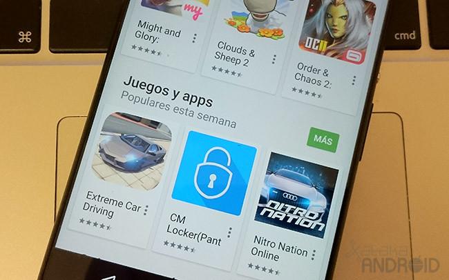 Estrellas Google® Play