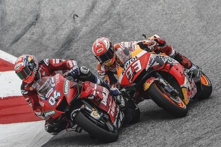Andrea Dovizioso volvió a ser el ogro que negó a Marc Márquez su primera victoria en Austria